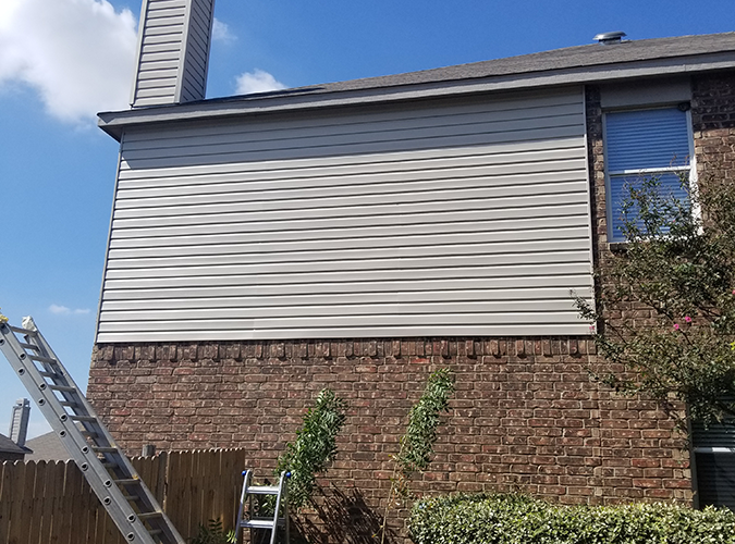 Siding, Soffit & Fascia | The Eagle Roofing Company - Dallas/Fort Worth